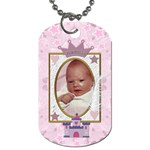 Little Princess 2-sided Dog Tag - Dog Tag (Two Sides)