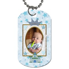 Little Prince 2 Sided Dog Tag By Lil    Dog Tag (two Sides)   Xcwl47m7jxg7   Www Artscow Com Front