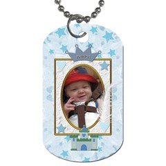 Little Prince 2 Sided Dog Tag By Lil    Dog Tag (two Sides)   Xcwl47m7jxg7   Www Artscow Com Back