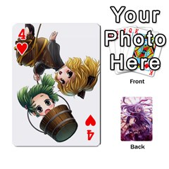 Touhou Playing Card Deck Reisen Back By K Kaze   Playing Cards 54 Designs   718w9ukj92au   Www Artscow Com Front - Heart4