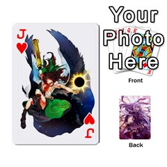 Jack Touhou Playing Card Deck Reisen Back By K Kaze   Playing Cards 54 Designs   718w9ukj92au   Www Artscow Com Front - HeartJ