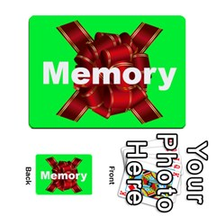 Memory By Peter Cobcroft   Playing Cards 54 Designs   Ike3wcqsj6q2   Www Artscow Com Back