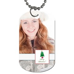 Christmas By May   Dog Tag (two Sides)   Fyu1gqaimnbu   Www Artscow Com Back
