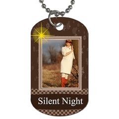 Christmas By May   Dog Tag (two Sides)   358r9fsohsya   Www Artscow Com Front