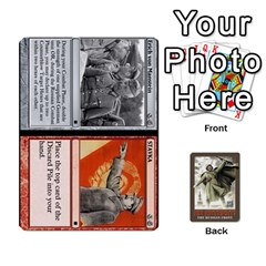 No Retreat! The Russian Front By Dubois   Playing Cards 54 Designs   1vdyocjuu12i   Www Artscow Com Front - Spade2