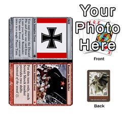 No Retreat! The Russian Front By Dubois   Playing Cards 54 Designs   1vdyocjuu12i   Www Artscow Com Front - Heart9