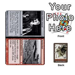 Jack No Retreat! The Russian Front By Dubois   Playing Cards 54 Designs   1vdyocjuu12i   Www Artscow Com Front - HeartJ