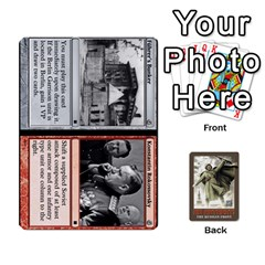 No Retreat! The Russian Front By Dubois   Playing Cards 54 Designs   1vdyocjuu12i   Www Artscow Com Front - Club8