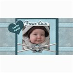 Frozen Kisses Photo Greeting Card - 4  x 8  Photo Cards