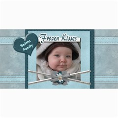Frozen Kisses Photo Greeting Card By Amarie   4  X 8  Photo Cards   Kjxn3r401ux4   Www Artscow Com 8 x4 Photo Card - 6