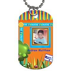 Matt Dogtag By Cherie   Dog Tag (two Sides)   L5wzk07xk43l   Www Artscow Com Front