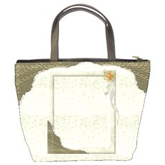 Light Gold Bucket Bag By Deborah   Bucket Bag   1ayyk1d741q0   Www Artscow Com Back