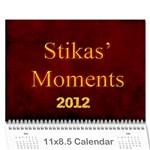 stikas - Wall Calendar 11  x 8.5  (12-Months)