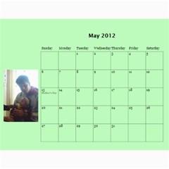Stikas By Marka20300   Wall Calendar 11  X 8 5  (12 Months)   Tmbnoyb9rob4   Www Artscow Com May 2012