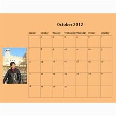 Stikas By Marka20300   Wall Calendar 11  X 8 5  (12 Months)   Tmbnoyb9rob4   Www Artscow Com Oct 2012