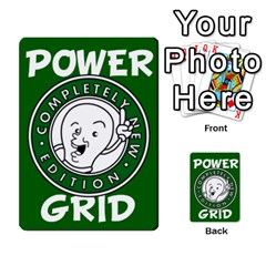 Power Grid Money Cards By Doug Bass   Multi Purpose Cards (rectangle)   Qnbyruwoiscd   Www Artscow Com Back 9