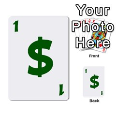 Power Grid Money Cards By Doug Bass   Multi Purpose Cards (rectangle)   Qnbyruwoiscd   Www Artscow Com Front 3