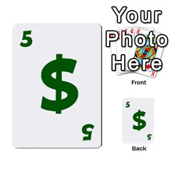 Power Grid Money Cards By Doug Bass   Multi Purpose Cards (rectangle)   Qnbyruwoiscd   Www Artscow Com Front 26