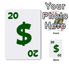 Power Grid Money Cards By Doug Bass   Multi Purpose Cards (rectangle)   Qnbyruwoiscd   Www Artscow Com Front 30