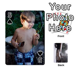 Cards By Jon   Playing Cards 54 Designs   Rfte1bhamxva   Www Artscow Com Front - Spade5