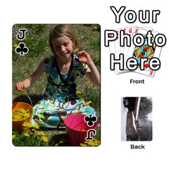 Jack Cards By Jon   Playing Cards 54 Designs   Rfte1bhamxva   Www Artscow Com Front - ClubJ