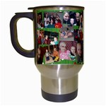 Xmas mug mom - Travel Mug (White)