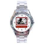 nyw - Stainless Steel Analogue Watch