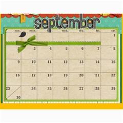 Marli s Calender 2b By Linda Ward   Wall Calendar 11  X 8 5  (12 Months)   Z4pqow0qubu7   Www Artscow Com Sep 2012