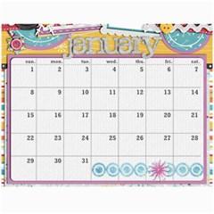 Marli s Calender 2b By Linda Ward   Wall Calendar 11  X 8 5  (12 Months)   Z4pqow0qubu7   Www Artscow Com Jan 2012