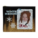 Winter Memories XL Cosmetic Bag - Cosmetic Bag (XL)