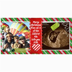 2011 Christmas Card By Aliciazeller   4  X 8  Photo Cards   Zx9kqoo2ftjv   Www Artscow Com 8 x4 Photo Card - 5