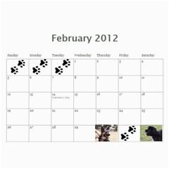 Jenni s Calendar 2012 2nd Option By Jenni Borg   Wall Calendar 11  X 8 5  (12 Months)   Axd5bkehhu3p   Www Artscow Com Feb 2012
