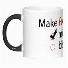 Make Fool Not War Mug By Hanaan   Morph Mug   Tjm78c553esq   Www Artscow Com Left
