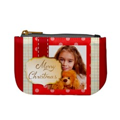 Christmas By Joely   Mini Coin Purse   Gq6hqo4z2p76   Www Artscow Com Front