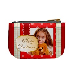 Christmas By Joely   Mini Coin Purse   Gq6hqo4z2p76   Www Artscow Com Back