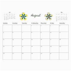 Parents Calendar By Nicole Prom   Wall Calendar 11  X 8 5  (12 Months)   K44plhxb386r   Www Artscow Com Aug 2012
