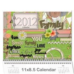 Prom Calendar By Nicole Prom   Wall Calendar 11  X 8 5  (12 Months)   Zdgo8n2mzyj8   Www Artscow Com Cover