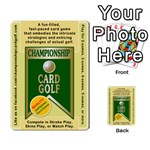 CHAMPIONSHIP CARD GOLF DECK (Final Version 12-20-2012) - Multi-purpose Cards (Rectangle)