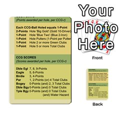 Championship Card Golf Deck (final Version 12 20 2012) By Douglas Inverso   Multi Purpose Cards (rectangle)   9783yblrbkq7   Www Artscow Com Back 1