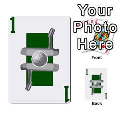 Championship Card Golf Deck (final Version 12 20 2012) By Douglas Inverso   Multi Purpose Cards (rectangle)   9783yblrbkq7   Www Artscow Com Front 6