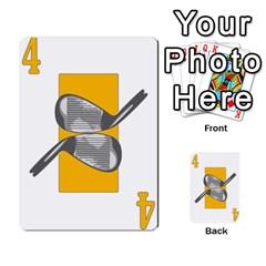Championship Card Golf Deck (final Version 12 20 2012) By Douglas Inverso   Multi Purpose Cards (rectangle)   9783yblrbkq7   Www Artscow Com Front 20