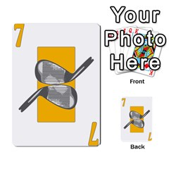 Championship Card Golf Deck (final Version 12 20 2012) By Douglas Inverso   Multi Purpose Cards (rectangle)   9783yblrbkq7   Www Artscow Com Front 32