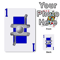 Championship Card Golf Deck (final Version 12 20 2012) By Douglas Inverso   Multi Purpose Cards (rectangle)   9783yblrbkq7   Www Artscow Com Front 5