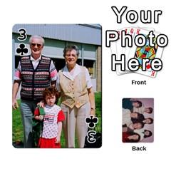 Grandmar s 90th By Meghan   Playing Cards 54 Designs   Q9sp3o46cj27   Www Artscow Com Front - Club3