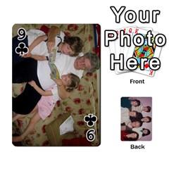 Grandmar s 90th By Meghan   Playing Cards 54 Designs   Q9sp3o46cj27   Www Artscow Com Front - Club9