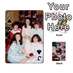 Jack Grandmar s 90th By Meghan   Playing Cards 54 Designs   Q9sp3o46cj27   Www Artscow Com Front - SpadeJ
