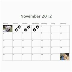 Jenni By Jenni Borg   Wall Calendar 11  X 8 5  (12 Months)   Jdf5vqiy9izh   Www Artscow Com Nov 2012