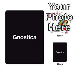 Gnostica 1 By Max   Multi Purpose Cards (rectangle)   M1m1nbfqp9e9   Www Artscow Com Back 19
