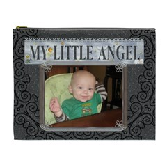 My Little Angel Xl Cosmetic Bag By Lil    Cosmetic Bag (xl)   Ssat78eetrfc   Www Artscow Com Front