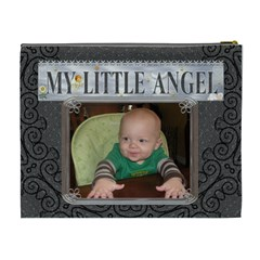 My Little Angel Xl Cosmetic Bag By Lil    Cosmetic Bag (xl)   Ssat78eetrfc   Www Artscow Com Back